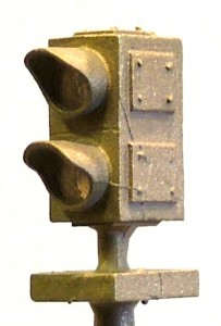 B111 Brass 2 Aspect Dwarf