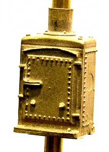 B112 Brass Single Relay Case