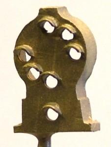 B129 Brass B&O Dwarf