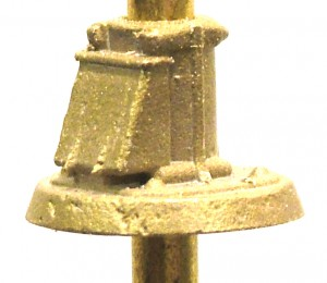B149 Brass Mast Base with Junction Box